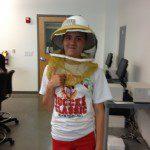 Beekeeping girl