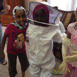 Beekeeping girls