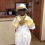 An aspiring beekeeper